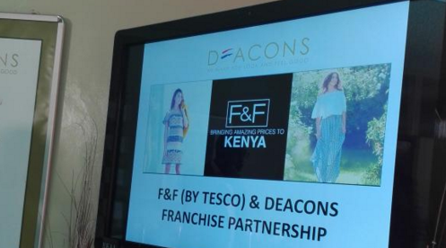 Deacons Signs Franchise Agreement With Uks Largest Merchandise