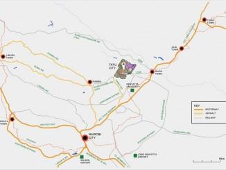 Tatu City Map