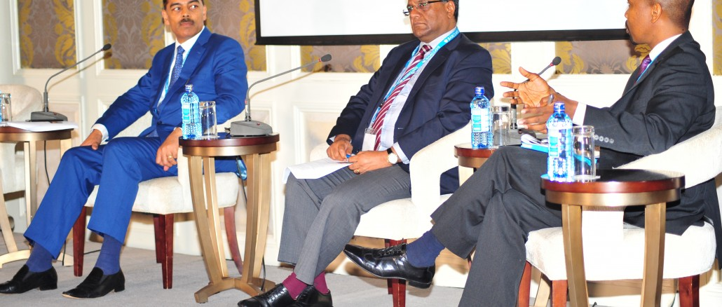 Panelists at recently concluded Barclays Africa Forum (From left Vimal Shah CEO Bidco Africa, Karim Dostmohamed CEO Frigoken Ltd and KeaObaka Mahuma, Head of Enterprise Supply Chain Development, Barclays Africa Group)
