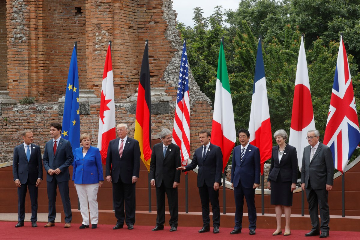 G7 leaders agree on trade, sanctions against Russia