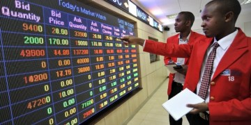 NSE weekly turnover down 53.6% to KSh 2.32 billion